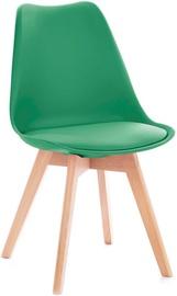 Valgomojo kėdė Homede Tempa Dark Green, 4 vnt.