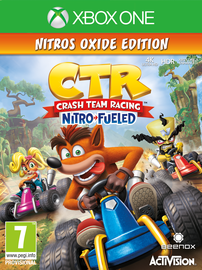 Žaidimas Crash Team Racing Nitro-fueled Xbox One