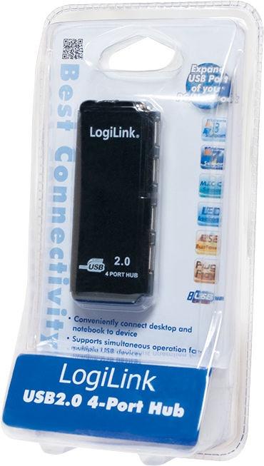 LogiLink Hub USB 2.0 4-Port UH0001A