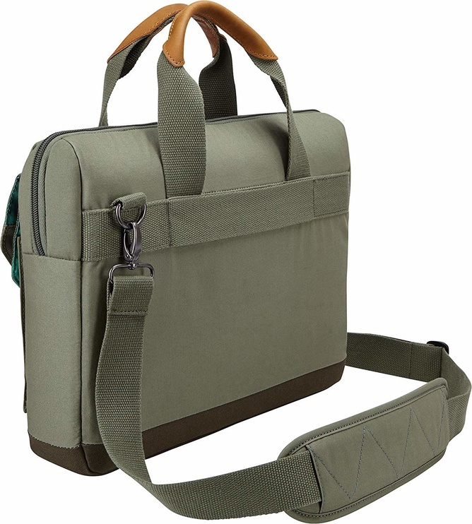 Case Logic LoDo 14 Laptop Attache Green 3203182