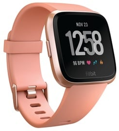 Išmanusis laikrodis Fitbit Versa Peach/Rose Gold Aluminum