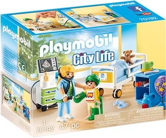 Playmobil City Life Childrens Hospital Room 70192