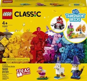 Конструктор LEGO Classic Прозрачные кубики 11013