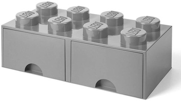 Room Copenhagen LEGO Brick Drawer 8 Grey