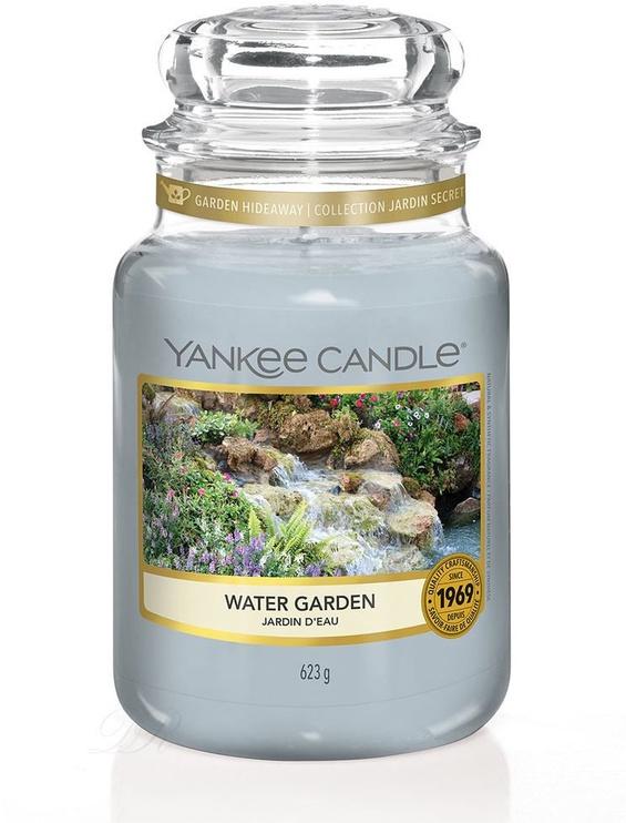 Ароматическая свеча Yankee Candle Classic Large Jar Water Garden, 623 г