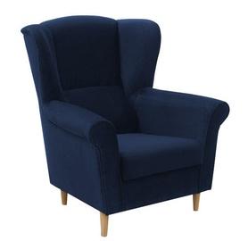 Fotelis Idzczak Meble Loft 1 Dark Blue, 88x80x105 cm