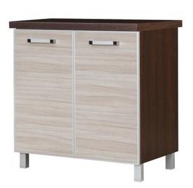 Кухонный шкаф Bodzio Ola Bottom 80 Nut Latte, 800x520x860 мм