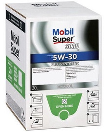 Mobil Super 3000 X1 F-FE 5W-30 Engine Oil Bag In Box 20l