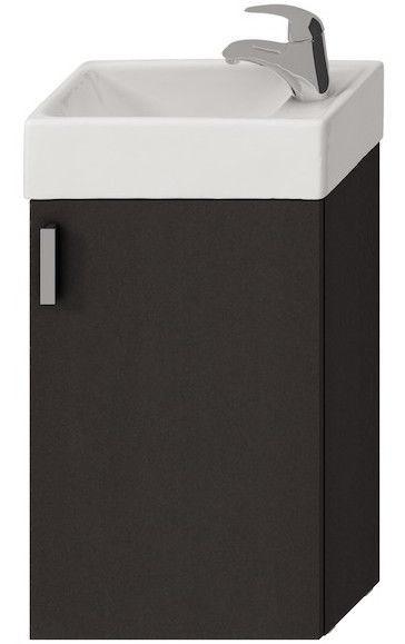 Шкаф для ванной Jika Petit 400x585x230mm Gray