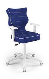 Vaikiška kėdė Entelo Duo Size 6 VS06, mėlyna/balta, 425x400x1045 mm