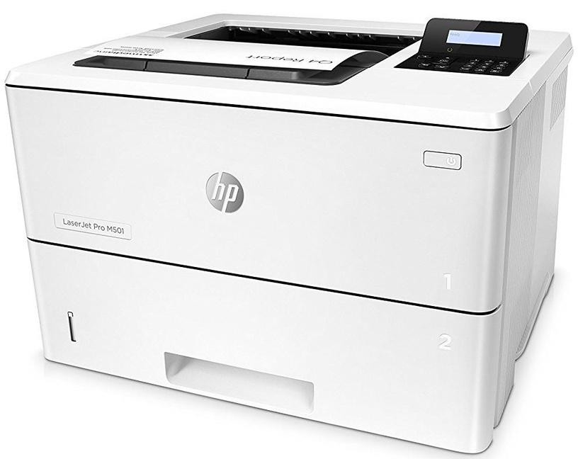 Лазерный принтер HP Pro M501dn White