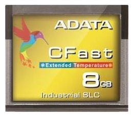 A-Data 8GB ISC3E SLC CFast Wide Temp