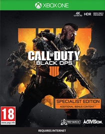 Xbox One mäng Call of Duty: Black Ops 4 Specialist Edition Xbox One
