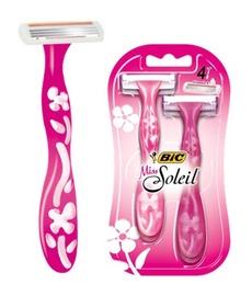 Raseerija Bic Miss Soleil Pink, 4 tk