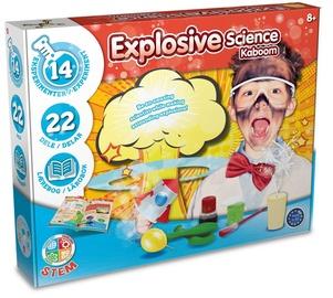 Intelektuāla rotaļlieta Liniex Explosive Science Kaboom