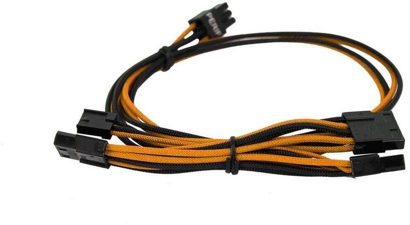EVGA Power Supply Cable Set Orange/Black 100-G2-06KO-B9