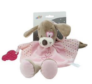 Axiom Cuddly Milus Dog Pink 25cm
