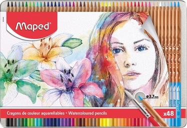 Цветные карандаши Maped Watercolor Pencils, 48 шт.