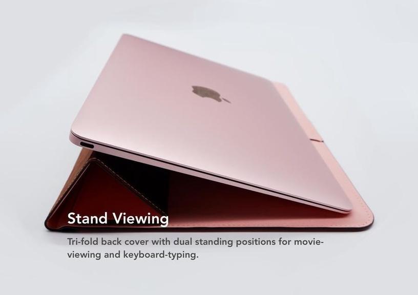 Чехол для ноутбука Vix&Fox, розовый, 11-12″