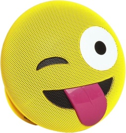Niveda Emoji Bluetooth Speaker Crazy Yellow