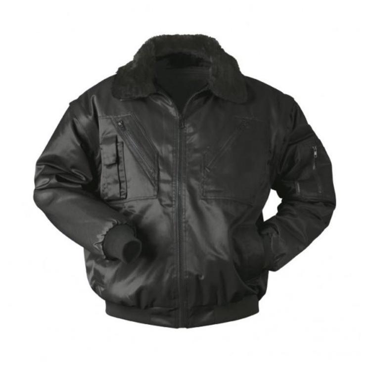 Winter Pilot Jacket Black L