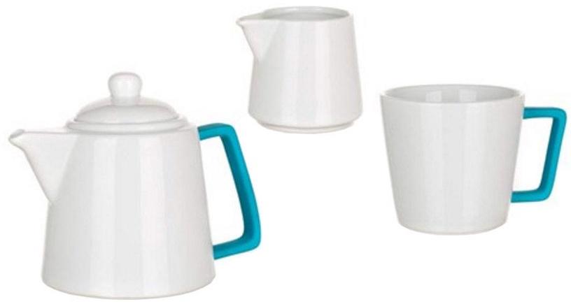 Banquet Color Plus Tea Set 3pcs Blue