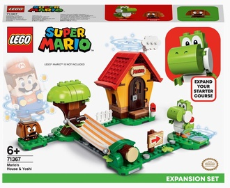 Конструктор LEGO Super Mario Дом Марио и Йоши. Дополнительный набор 71367, 205 шт.