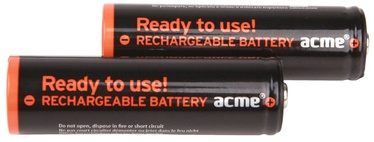 Acme Rechargeable Batteries 2xAA 2600mAh
