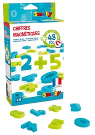 Smoby Magnetic Figures And Numbers 48pcs