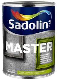 Alkīda krāsa Sadolin Master 30BW, pusmatēta, 1l