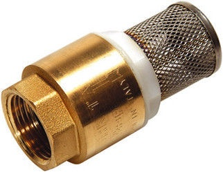 """Sferaco Foot Valve with Filter Brass 1"""""""
