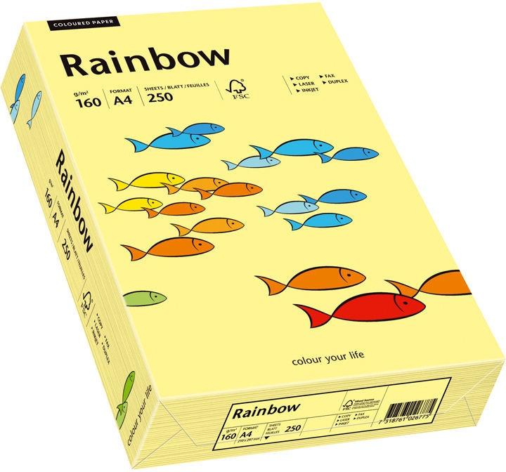Papyrus Rainbow Paper A4 Light Yellow