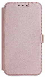 Mocco Shine Book Case For Huawei Mate 10 Rose Gold