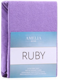 AmeliaHome Ruby Frote Bedsheet 200-220x200 Purple 22