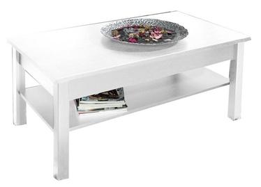 Kafijas galdiņš Cama Meble Simone, balta, 1100x470x600 mm