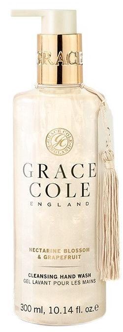 Šķidrās ziepes Grace Cole Nectarine Blossom & Grapefruit, 300 ml