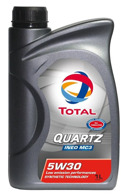 Automobilio variklio tepalas Total Quartz Ineo MC3, 5W-30, 1 l