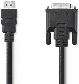 Nedis CCGP34800BK30 DVI Cable to HDMI 3m Black