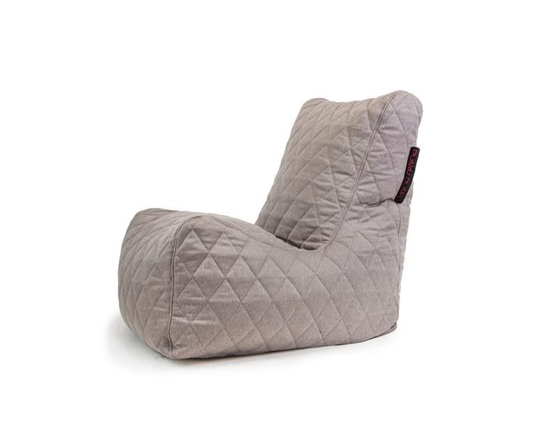 Sėdmaišis Pušku Pušku Seat Quilted Nordic Concrete, 400 l
