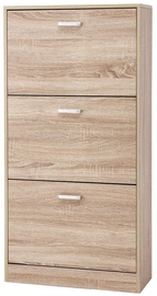 Songmics Shoe Cabinet Wooden 60x24x120cm