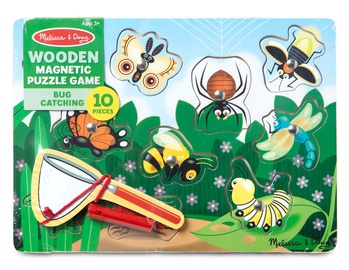 Melissa & Doug Bug Catching Magnetic Puzzle Game 13779