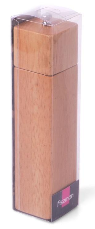 Fissman Cube Salt & Pepper Mill Wood 21.5x5cm