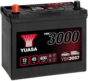 Аккумулятор Yuasa, 12 В, 45 Ач, 400 а