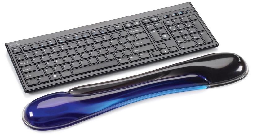 Kensington Duo Gel Keyboard Wrist Rest Blue/Black