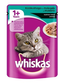 Whiskas Adult Pouches With Rabbit 100g