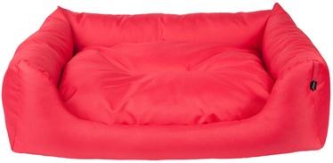 Кровать для животных Amiplay Basic, красный, 1140x900 мм