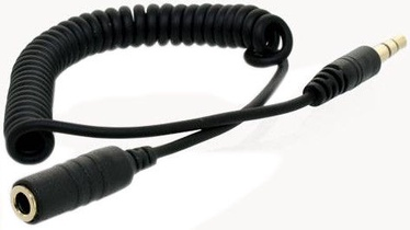 4World Audio Adapter 3.5mm Spiral Cable