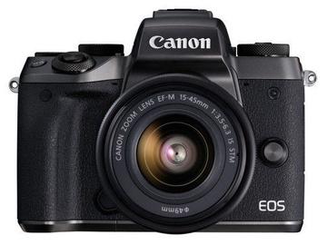 Canon EOS M5 + EF-M 15-45mm Black