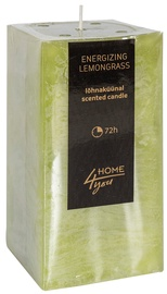 Ароматическая свеча Home4you Candle Energizing Lemongrass 7.5x7.5xH15