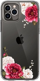 Spigen Cyrill Cecile Back Case For Apple iPhone 12/12 Pro Red Floral